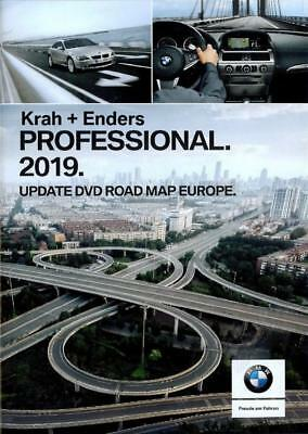 BMW Road Map Navigation Profesional 2019 DVD-1 Europa Oeste + Radares