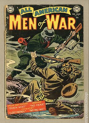 All American Men of War #9 1954 FR/GD 1.5