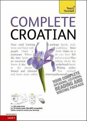NEW Complete Croatian Beginner to Intermediate Course By Teach Yourself Paperbac