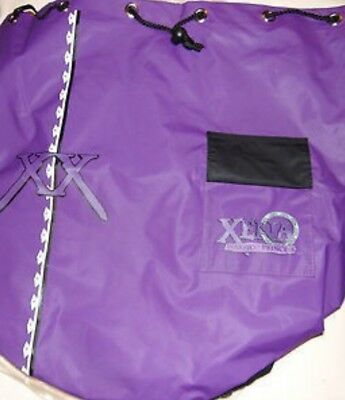 Xena Warrior Princess Official Product Purple Black Bag Tote Backpack NEW