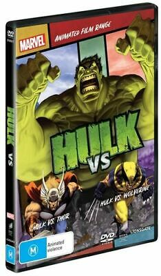NEW Hulk vs DVD Free Shipping
