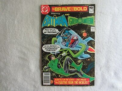 The Brave and the Bold Comic #155 Oct. 1979 Starring Batman and Green Lantern
