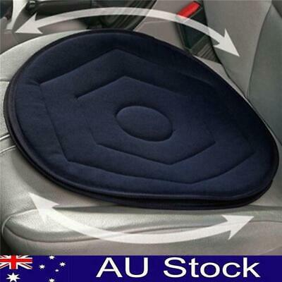 Memory Foam Rotating Swivel Car Chair Seat Mobility Aid Cushion Office Pad AU!