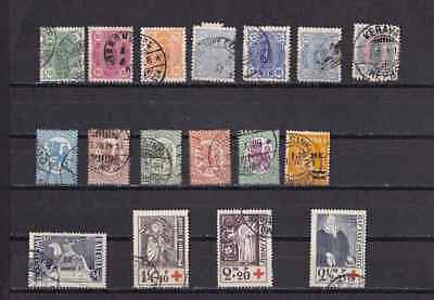 Finland lot of used stamps pre 1940