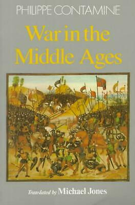 War in the Middle Ages by Phillippe Contamine (English) Paperback Book Free Ship