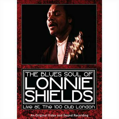 Blues Soul of Lonnie Shields - Live At the 100 - DVD Region 2 Free Shipping!