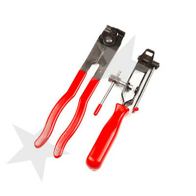 2pc CV Joint Clamp Banding Tool Ear Type Boot Clamp Pliers