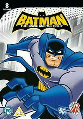 Batman - The Brave and the Bold: Volume 8 - DVD Region 2 Free Shipping!