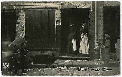 Salvation Army - At Work in the Slums c1920