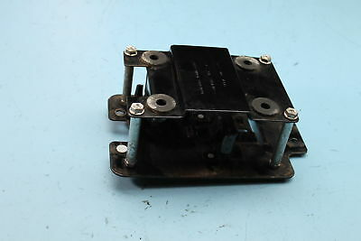 745 02 Harley-Davidson Dyna Electrical Panel Switch Circuit Breakers Plate