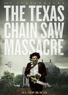 The Texas Chainsaw Massacre (DVD, NEW, 1974, 2014 Rel) 40th Anniversary Edition