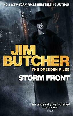 Storm Front: The Dresden Files, Book One by Jim Butcher (English) Paperback Book