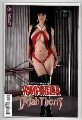 Vampirella/Dejah Thoris #1 Cosplay Photo Variant  Dynamite Comics  1st Print
