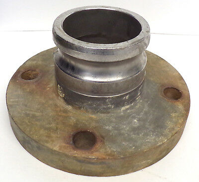 """Ss Cam & Groove Flange Adapter 3"""""""