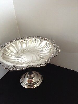"Wallace ""Baroque"" Silverplate 274 Compote Excellent & Elegant!"