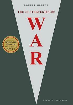 33 Strategies of War by Robert Greene (English) Paperback Book Free Shipping!