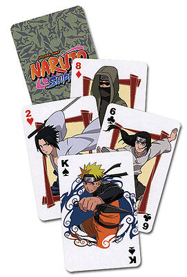 Naruto Shippuden Official Genuine Playing Cards *NEW*