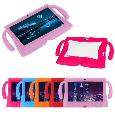 """Cute Universal 7"""" Inch Soft Silicone Cover Case For Android Kids Tablet PC Hot E"""