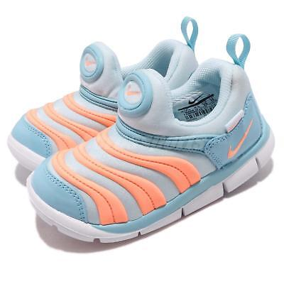 Nike Dynamo Free TD Topaz Mist Orange Pulse Toddler Infant Baby Shoes 343938 -429 33224b1a2