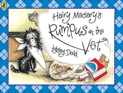 Hairy Maclary's Rumpus at the Vet by Lynley Dodd (English) Paperback Book Free S