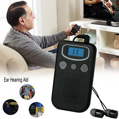 Magic Personal Ear Hearing Aid Device Booster Sound Hearing Amplifier Digital LA