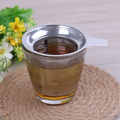 Mesh tea infuser reusable tea strainer teapot stainless steel loose tea filter H