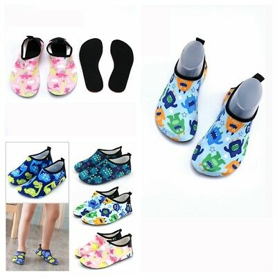 Children Quick-Dry Water Shoes Barefoot Aqua Socks Yoga Beach Swim Pool Play AU