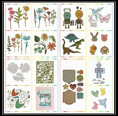 Mixed Style Cutting Die Diy Paper Cards Scrapbooking Photo Album Embossing Craft