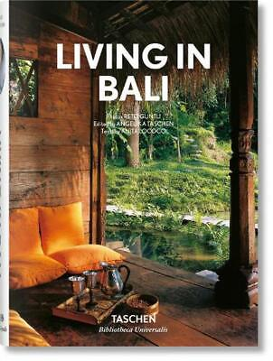 Living in Bali by Angelika Taschen Hardcover Book Free Shipping!
