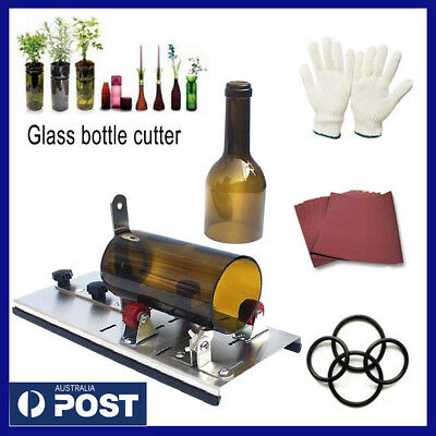 Glass Bottle Cutter Kit - Craft glass art cutting machine tool for jar & recycle