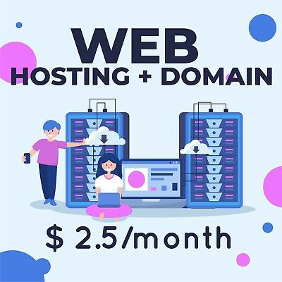 ALL IN ONE .com domain and unlimited cpanel hosting cheap price for 1 YEAR