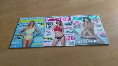 3 Women's Health Magazines inc Sept 2018 New/ Unread Jenna Dewan Naked Issue
