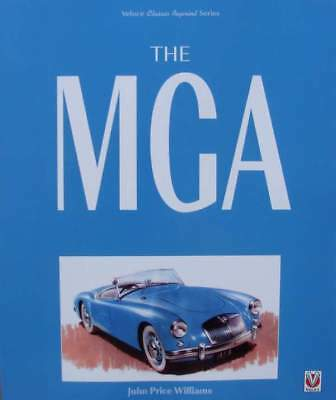 LIVRE/BOOK : The MGA (voiture de collection,oldtimer)