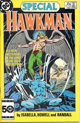 Hawkman Special Comic Book #1 DC Comics 1986 VERY FINE/NEAR MINT NEW UNREAD