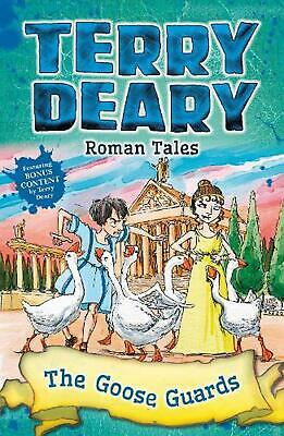 Roman Tales: the Goose Guards by Terry Deary Paperback Book Free Shipping!