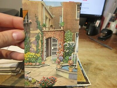 Vintage Old Postcard LOUISIANA New Orleans French Quarter Little Theater Patio