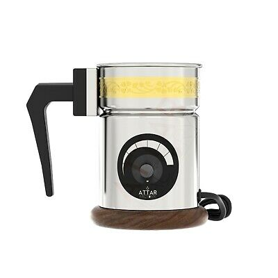 Automatic Electric Oudh Oud Incense Bakhoor Bakhur Burner, UK 3-pin + free gift
