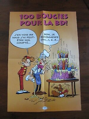 tome & janry collector -- poster spirou et fantasio