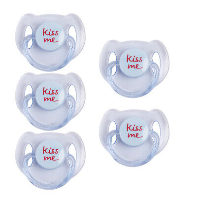 Pink Blue Dummy Pacifier Internal Magnet For Reborn Baby Doll Accessories