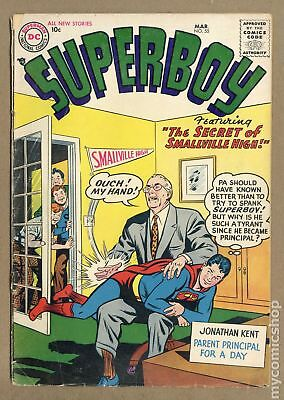 Superboy (1st Series DC) #55 1957 GD/VG 3.0