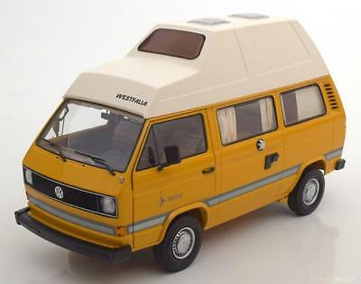 1:18 Schuco VW T3 Joker Camper with high roof yellow/white