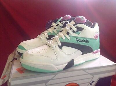 Reebok Court Victory Pump Tennis Shoes Chang Size 9 VIOLET MINT WHITE NIB! ea969dd64