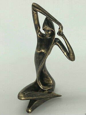Abstract Female Cold Cast Bronze Sculpture Figurine Figure Statue Gift Home Deco