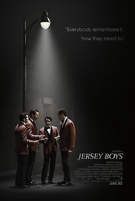 Jersey Boys Original D/S Rolled Movie Poster 27x40 NEW 2014  Four Seasons Based