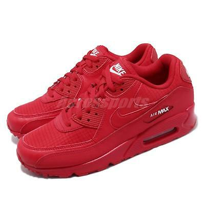 fc8808ae Nike Air Max 90 Essential University Red October Mens Running Shoes  AJ1285-602