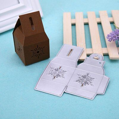 Flower Gift Box DIY Metal Carbon Steel Cutting Die Scrapbooking rafts Dies Cut