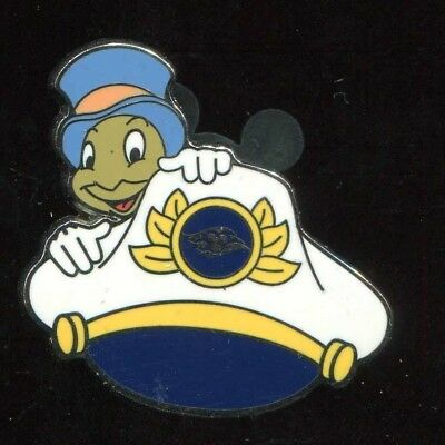 Disney DCL Jiminy Cricket Captains Hat Mystery Disney Cruise Line pin