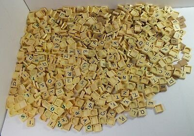 Job Lot Scrabble Tiles - 1.2kg