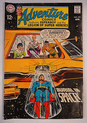 (RI5) Adventure Comics #379 (Apr 1969, DC) featuring Superboy