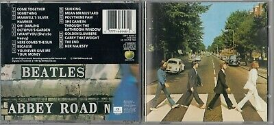 The Beatles - Abbey Road  (CD, Oct-1987) APPLE
